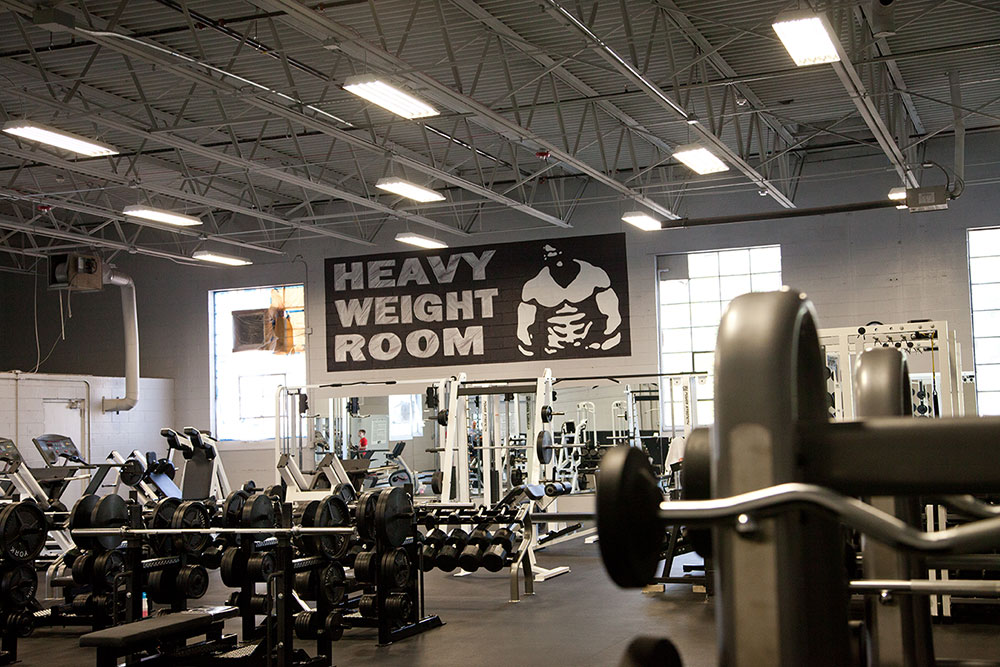 Heavy Weight Room - Pacific Health Club