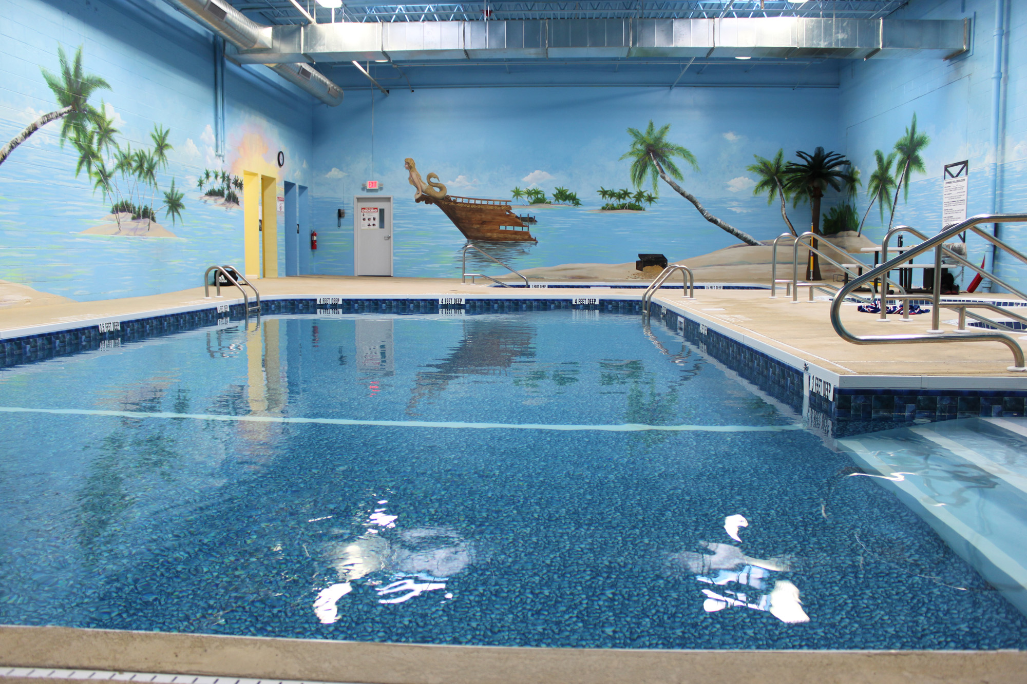 Salt water pools and lap pool pacific health club for Convert swimming pool to saltwater